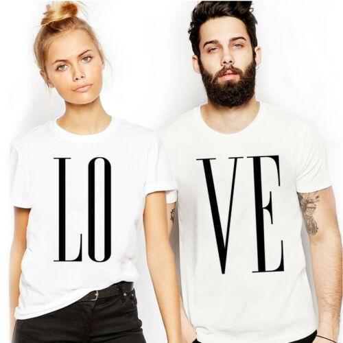 Love T Shirt Wifey Hubby Husband Boyfriend Girlfriend Couple Married Valentines